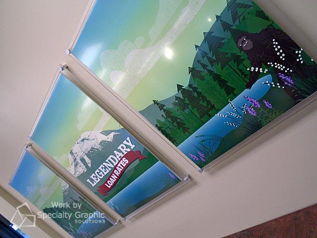 Digital Print Art for Banks in Washougal WA