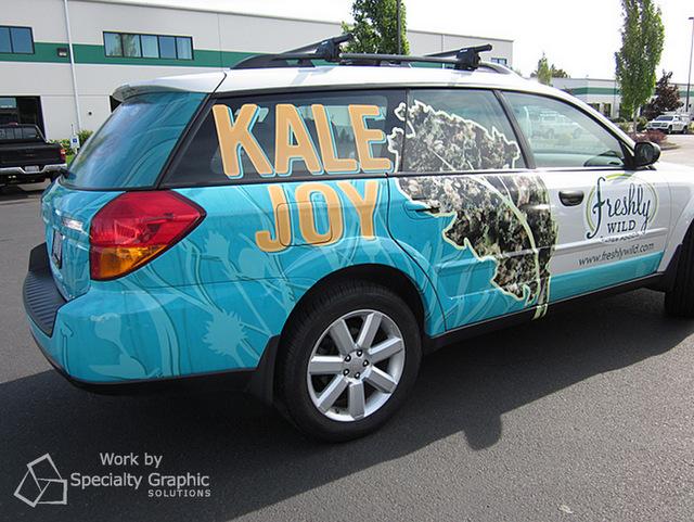 Car Wraps Portland OR