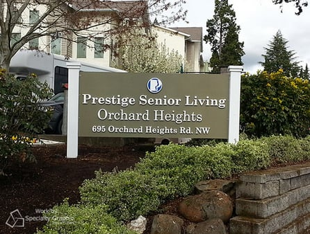 Post and Panel Exterior Signs for Portland OR