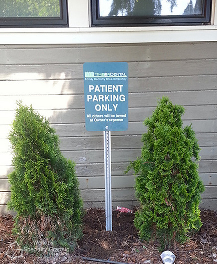 Parking Area Signs in Vancouver WA