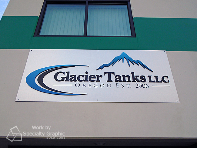 Custom exterior building signs for Portland OR
