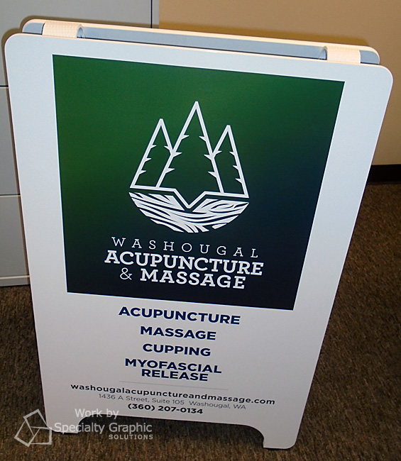 A-Frame Signs for New Businesses in Washougal WA