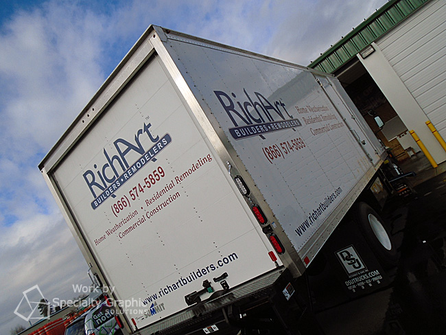 Brand your Vancouver Business with Box Truck Graphics