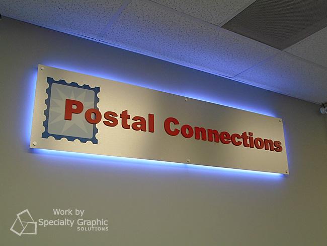 Custom LED Lit Lobby Signs Hazel Dell WA