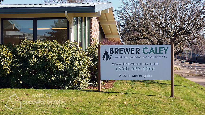 Signs for CPA Firms in Vancouver WA