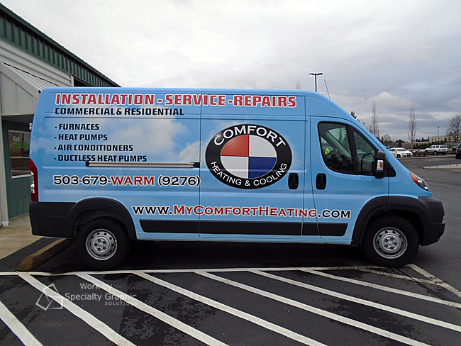 Fleet Van Wraps Porland Oregon