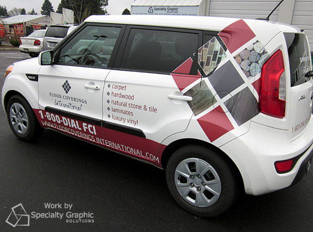 Best place to buy vehicle wraps in Portland Oregon