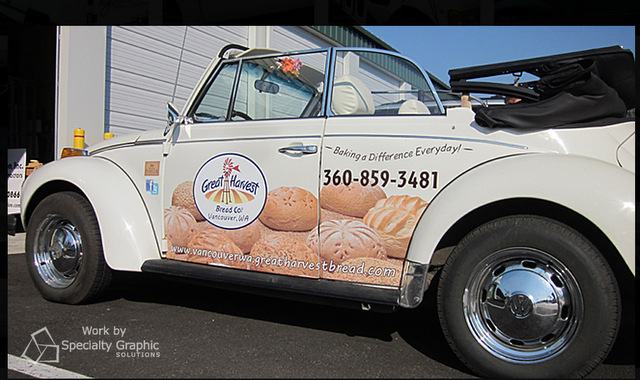 Best place for partial vehicle wraps in Portland Oregon