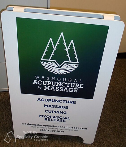 A-Frame and Sidewalk Signs for Retail Stores in Portland Oregon