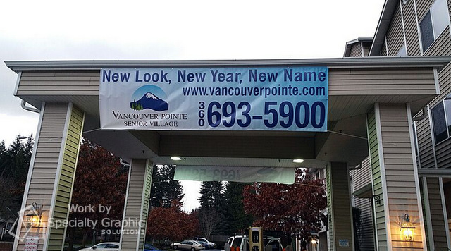 Exterior Banners for Retail Stores in Portland Oregon