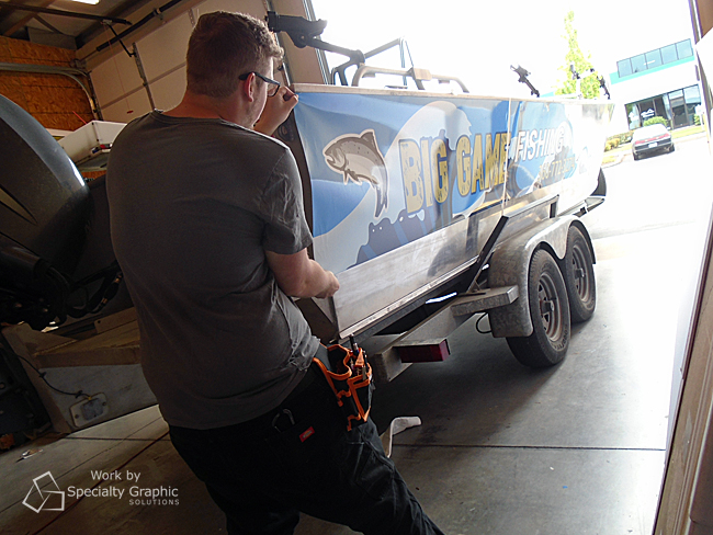 Where to get boat graphics in Portland Oregon