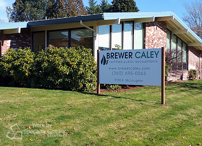 Sign features new logo and name for Vancouver WA CPAs.jpg