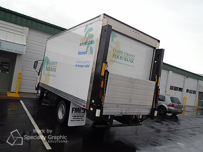 Box truck graphics for Clark County Food Bank Vancouver WA.jpg