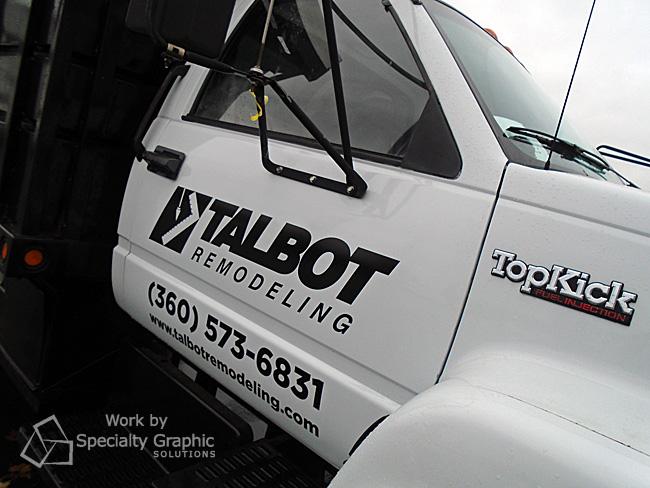 Dump truck door graphics Vancouver WA.jpg