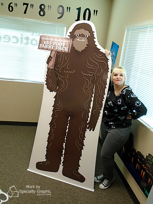 Sasquatch Cut Outs in Vancouver WA