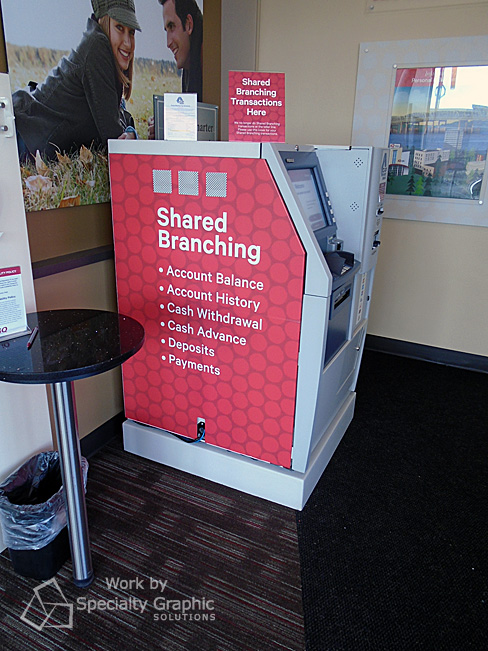 ATM Wraps for Banks in Vancouver WA