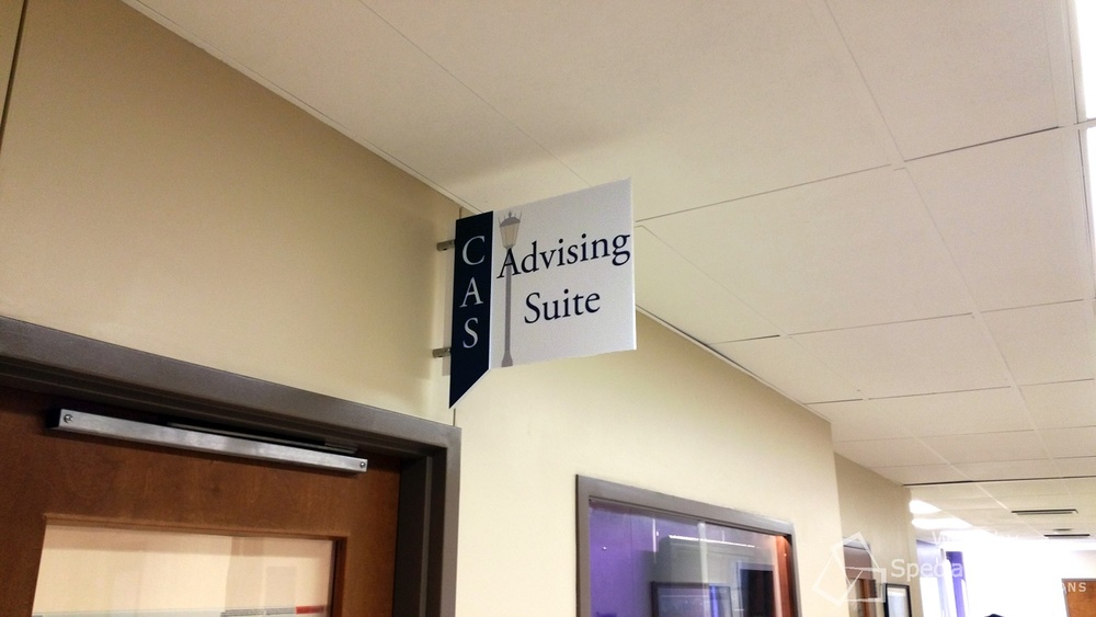 Wayfinding Signs For Colleges In Portland Oregon