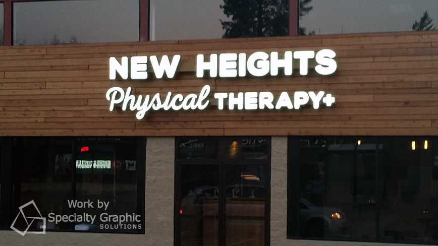 New practice location in west Portland gets great new store signs.jpg