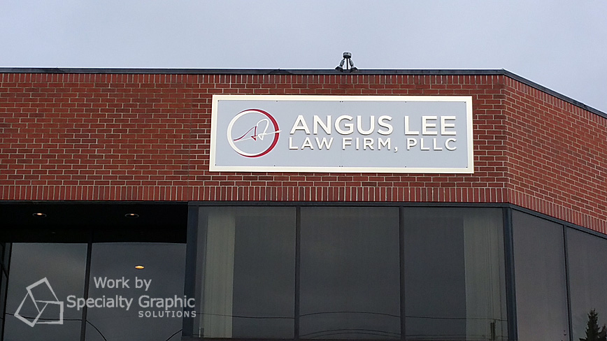 3D Letters and Logo Building Signs in Vancouver WA