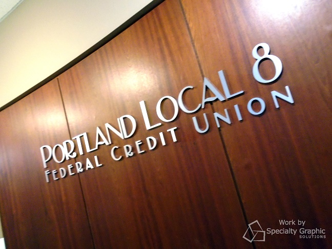 Acrylic and metal letters for Portland Local 8 Credit Union.jpg