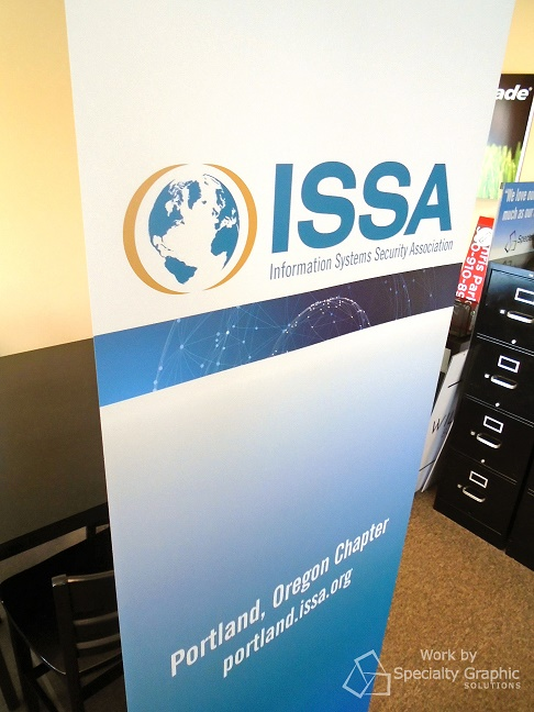 Retractable banner for the Portland OR chapter of ISSA.jpg