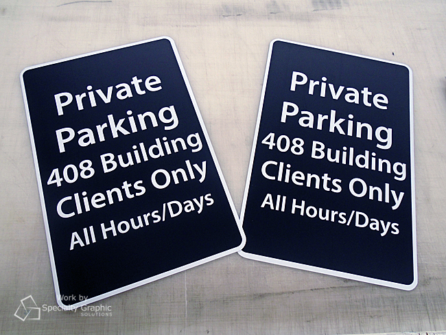 Custom aluminum parking signs Vancouver WA.jpg