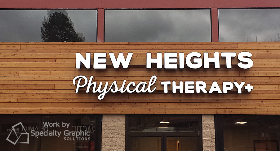 Illuminated Sign for New Heights Physical Therapy Cornell Road location Portland OR.jpg