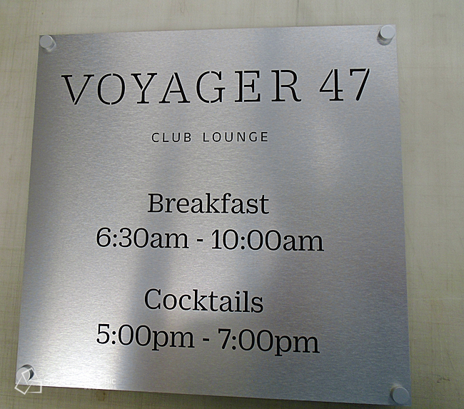 Brushed aluminum hotel club lounge sign.jpg