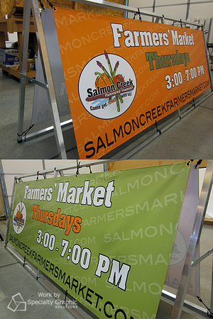 Digitally printed double-sided banners in Vancouver WA