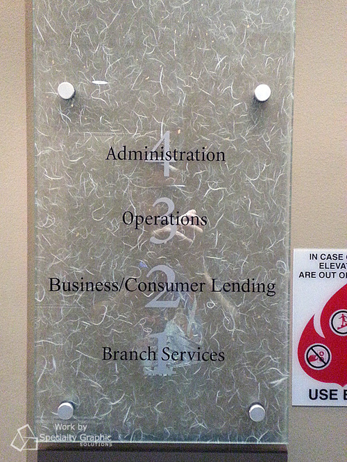 Suite and Wayfinding Signs in Vancouver WA