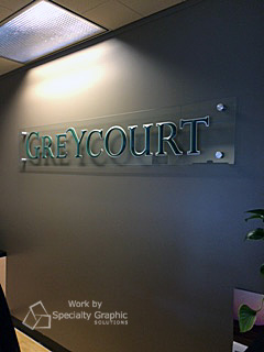 Acrylic Panel and Dimensional Letter Lobby Signs in Vancouver WA