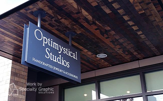 Exterior Blade Signs in Portland Oregon