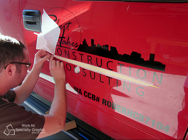 Repair vehicle graphics in Vancouver WA