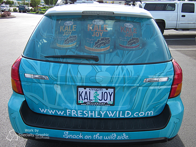 Rear Window Graphics for Vehicles in Vancouver WA