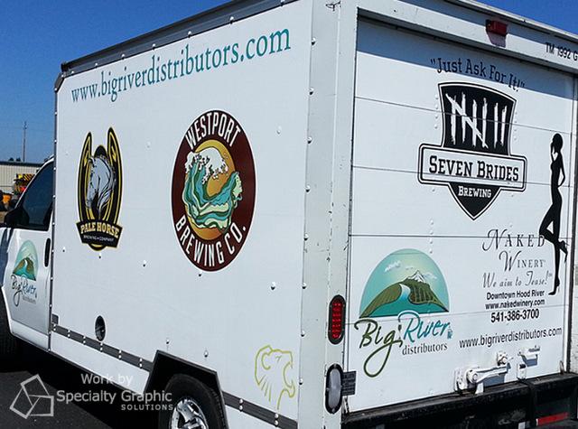 Box Truck Graphics in Portland Oregon
