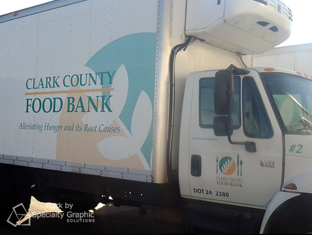 Box Truck Lettering in Portland Oregon