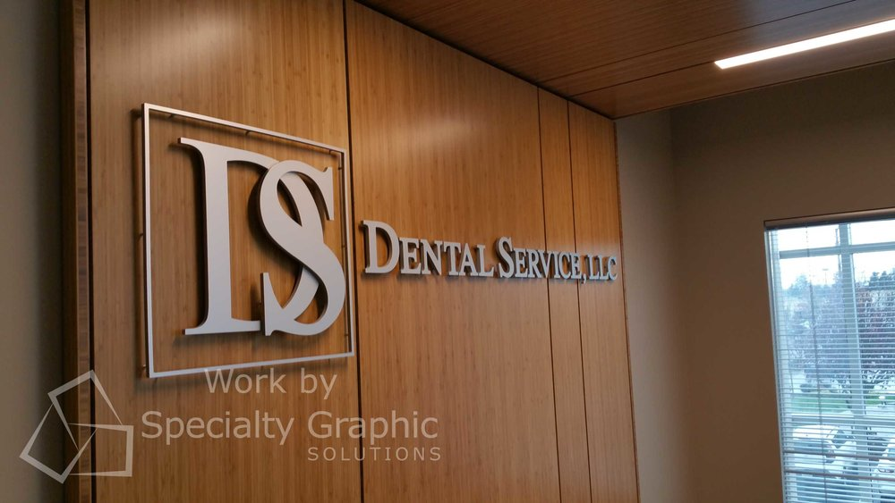 3D Letter Lobby Signs for Dental Firms in Vancouver WA