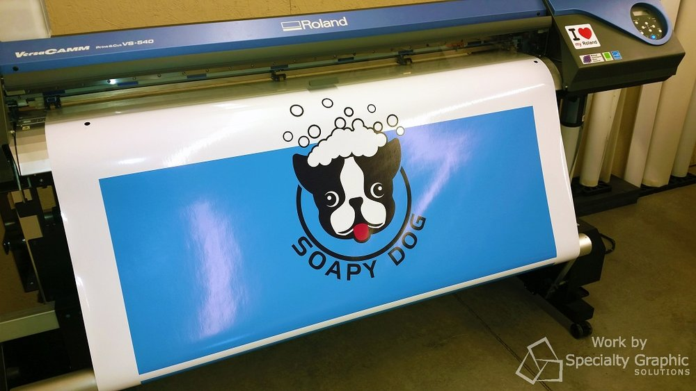 Vehicle wrap printing in Vancouver WA