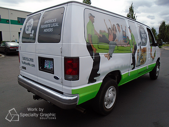 Graphics for Fleet Vehicles Vancouver WA