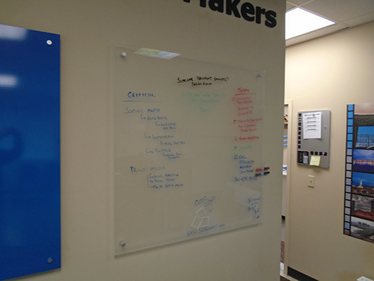Dry Erase White Boards for Businesses