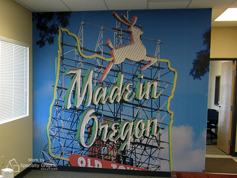 Vinyl Wall Graphics Portland OR