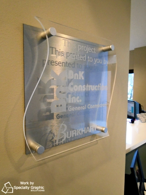 BNK Construction brushed aluminum lobby sign.jpg