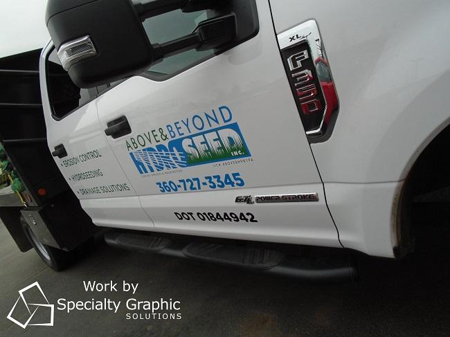 Fleet Vehicle Graphics Vancouver WA