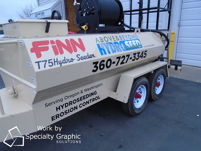 Trailer Graphics for Fleet Vehicles in Vancouver WA
