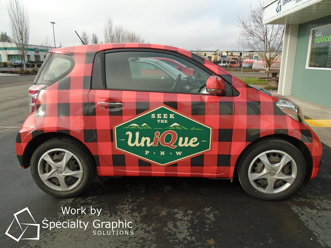 Full Vehicle Wraps in Vancouver WA