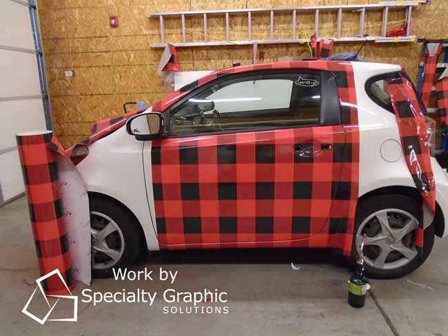 Change the look of your vehicle with a Full Car Wrap!