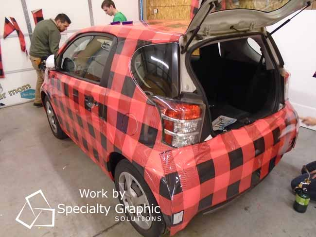 Where to get Custom Vehicle Wraps in Vancouver WA