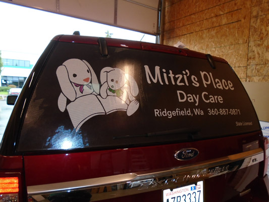 Window Graphics for Vehicles in Ridgefield WA