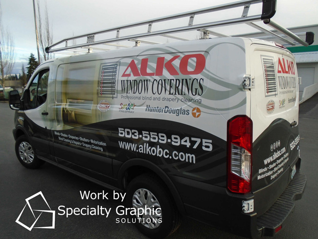 Vehicle Graphics in Portland OR