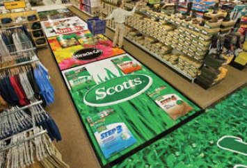 removable floor graphics scotts